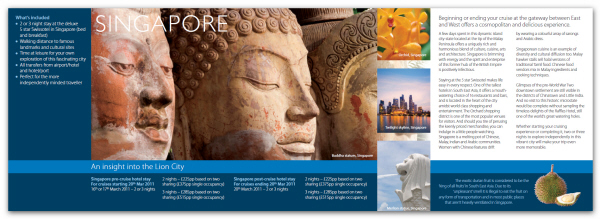 Ideas and examples for creating and designing tourist catalogs to – Brochure Design Idea Example