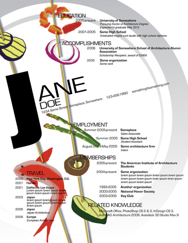 ideas para hacer infografias de curriculums vitae
