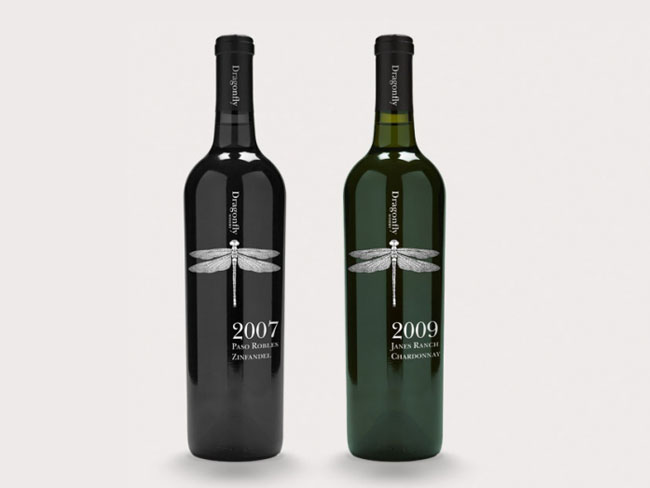 design minimalist packaging wine bottle labels and boxes packaging