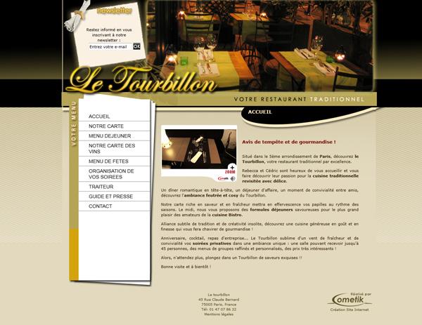 ideas and website design for a restaurant restaurant web
