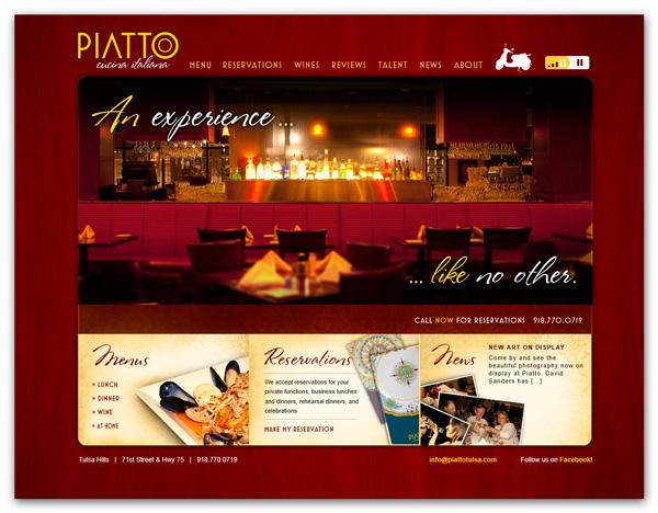 Ideas para hacer una pagina web de un restaurante for Como crear un restaurante