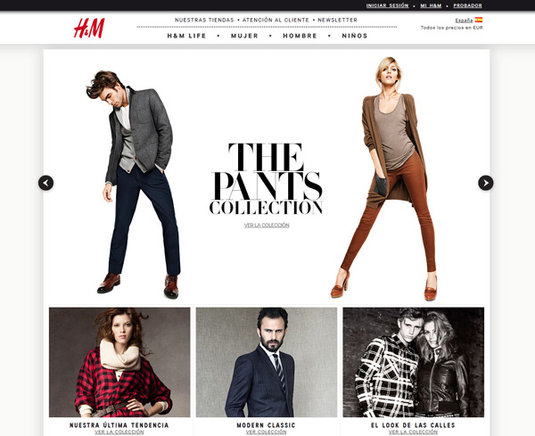 Creative Ideas And Examples Of Creating Web Pages For A Clothing Or Fashion Store