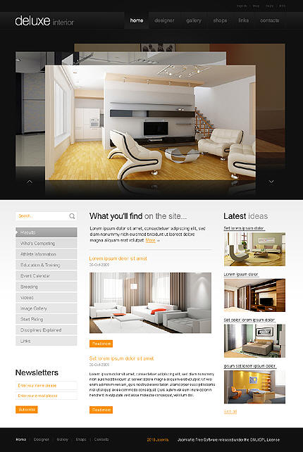 Ideas And Examples For Web Design For Fashion And Interior Design, Home  Design, Home