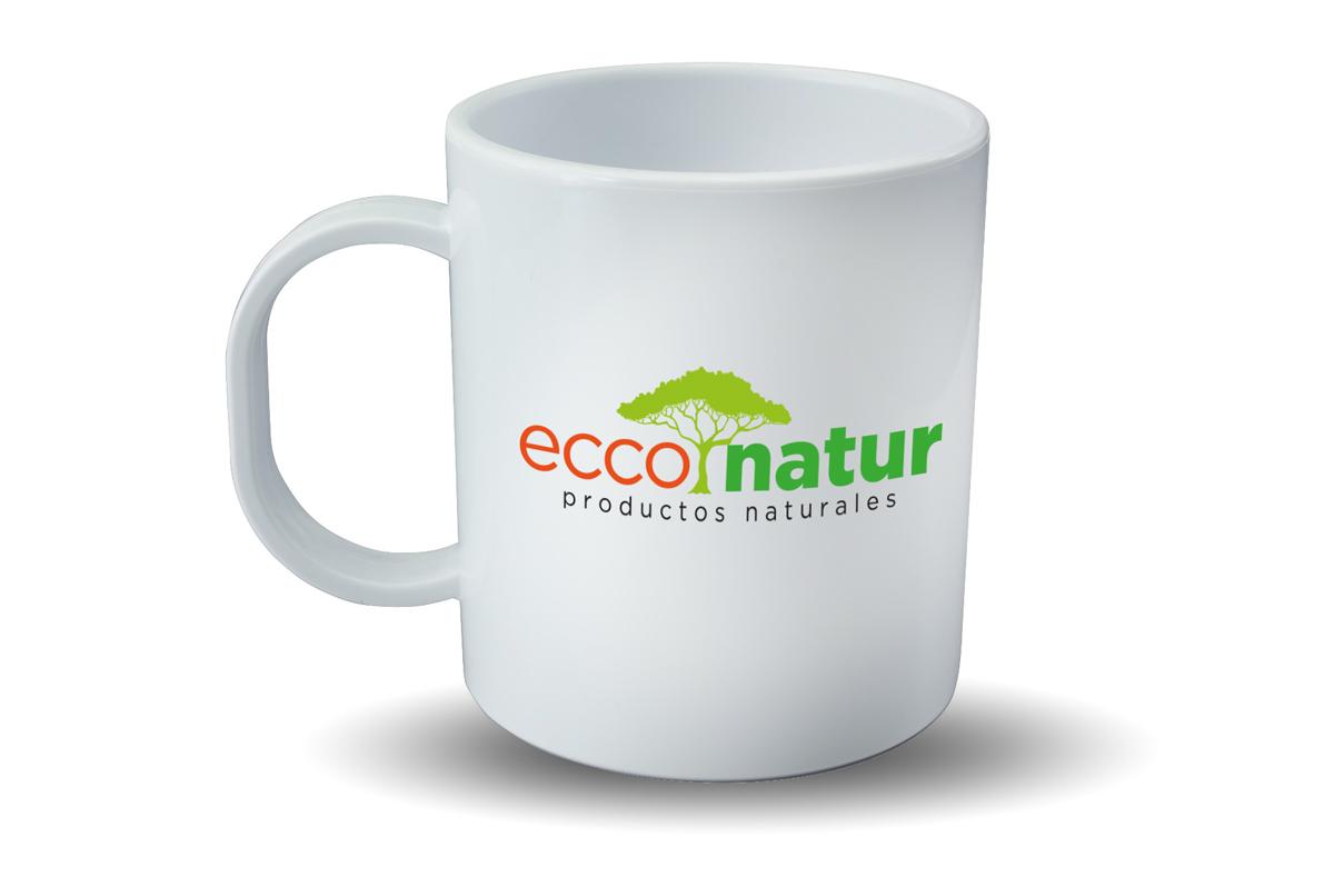Diseño logo empresa de venta online de productos naturales y ecológicos