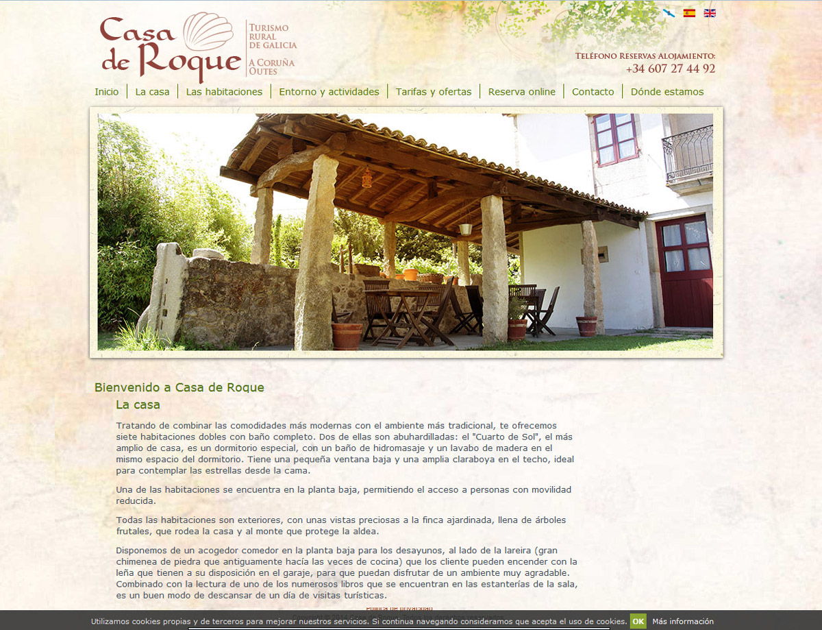 Trabajos realizados de dise o web programaci n web for Casa online