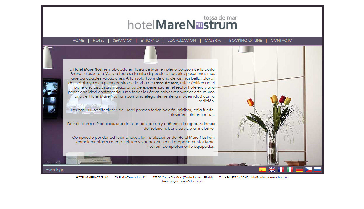 Web design and layout of web pages for tourism hotel web for Hotel web design