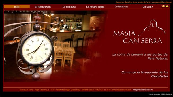 Dise o p gina web restaurante como hacer crear pagina web for Como crear un restaurante